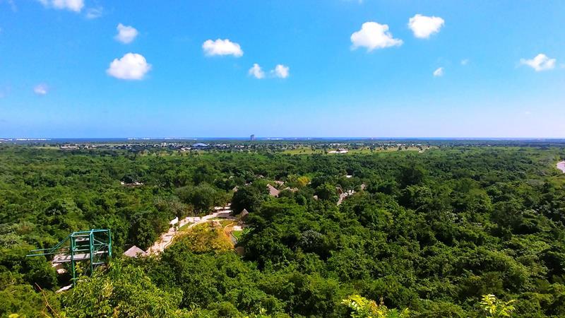 Überblick über den Scape Park Cap Cana in Punta Cana