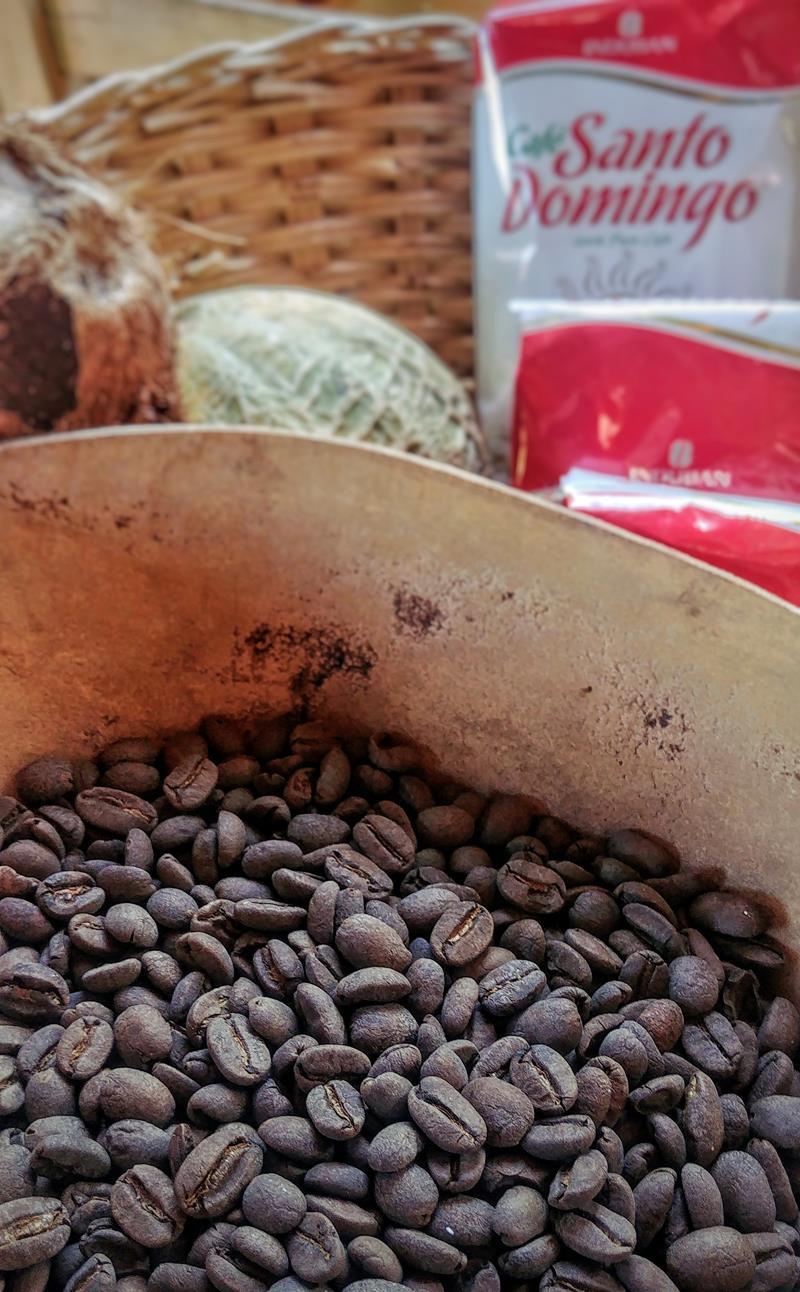 Dominikanischer Kaffee im Scape Park Cap Cana in Punta Cana
