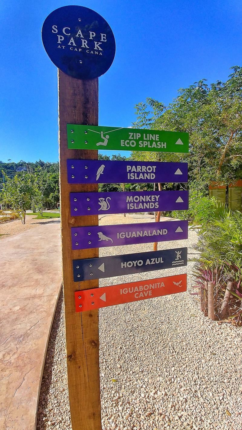 Unser Besuch im Scape Park, einer Attraktion in Punta Cana
