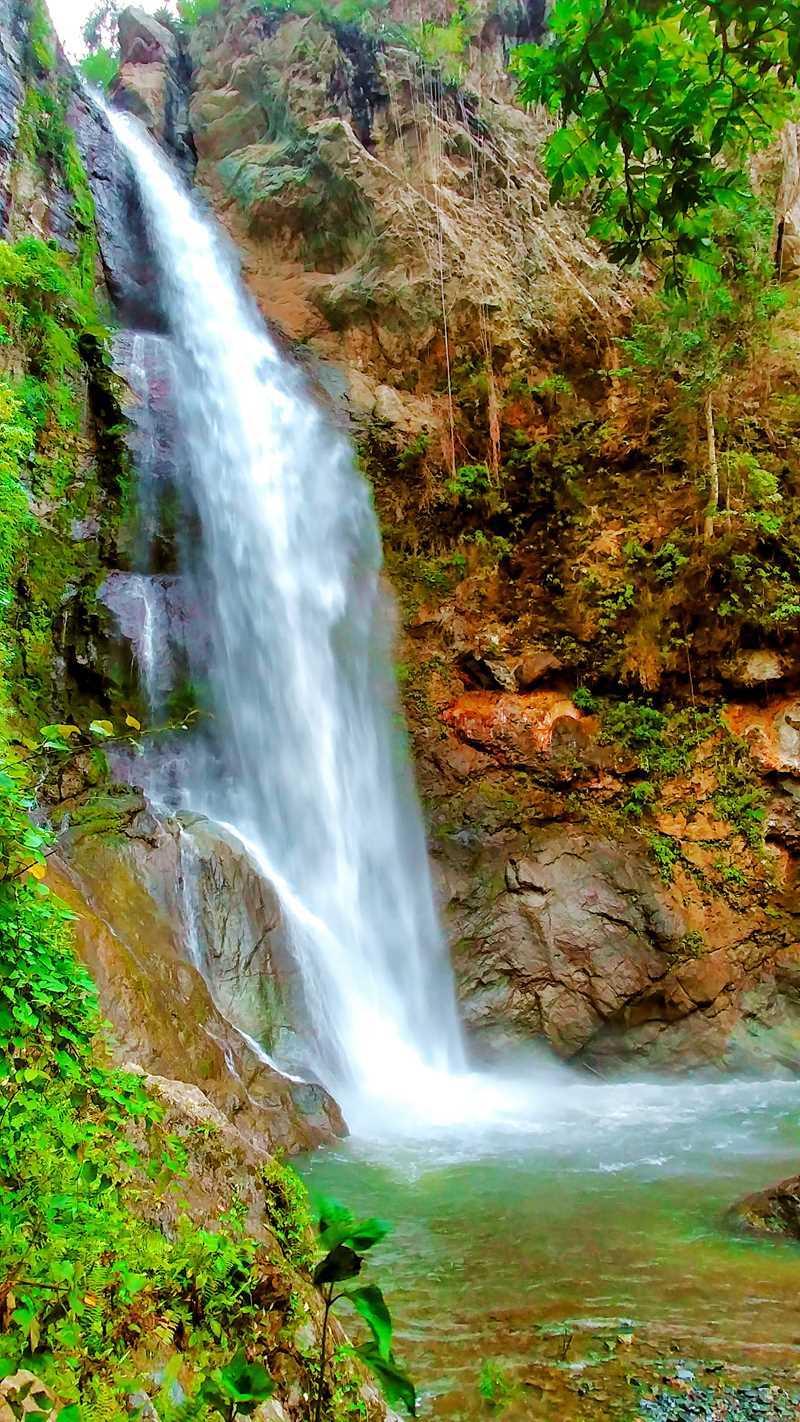 Der Salto San Pedro bei San Juan de la Maguana im Westen der Dominikanischen Republik