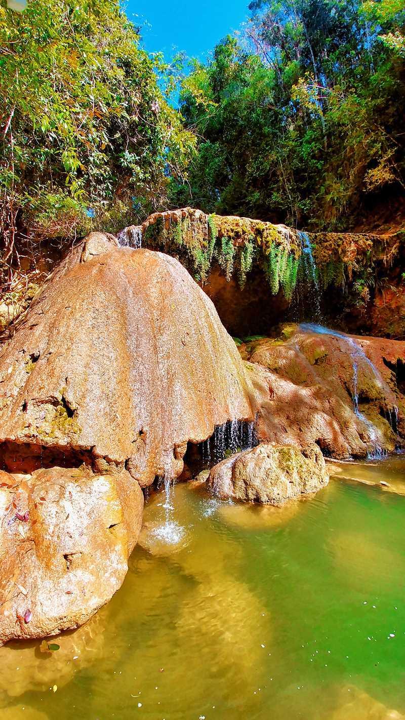 Der Wasserfall Salto El 12 bei Monte Plata