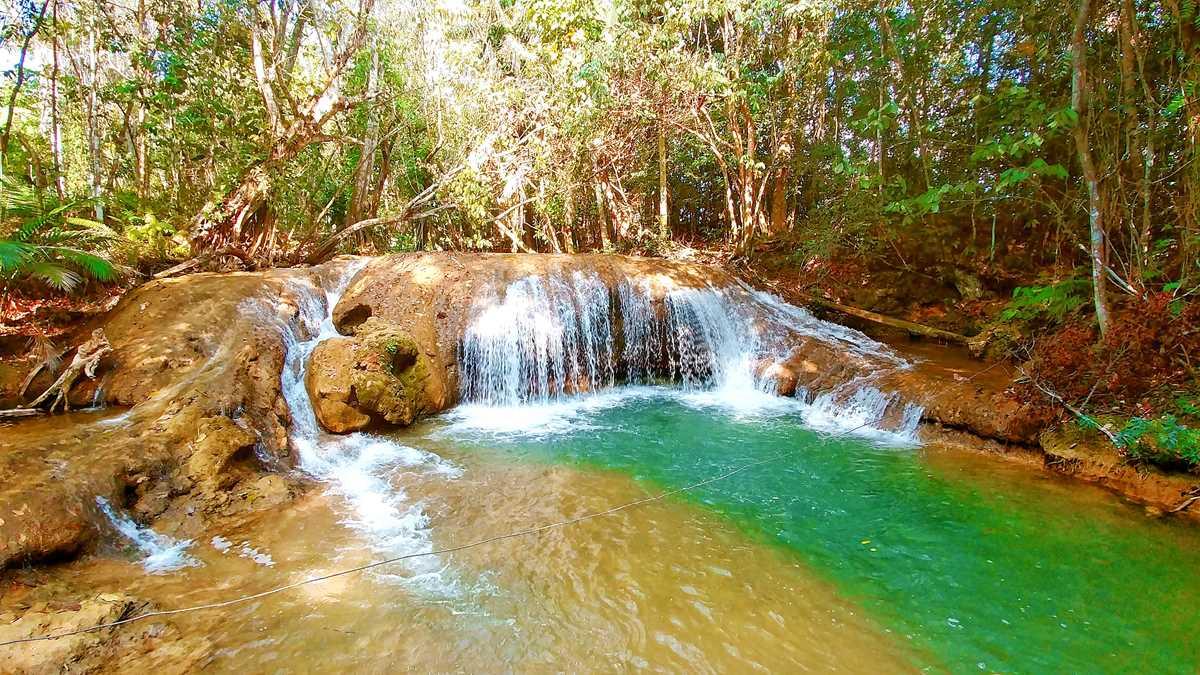 Der Salto de la Sabana in der Nähe von Bayaguana