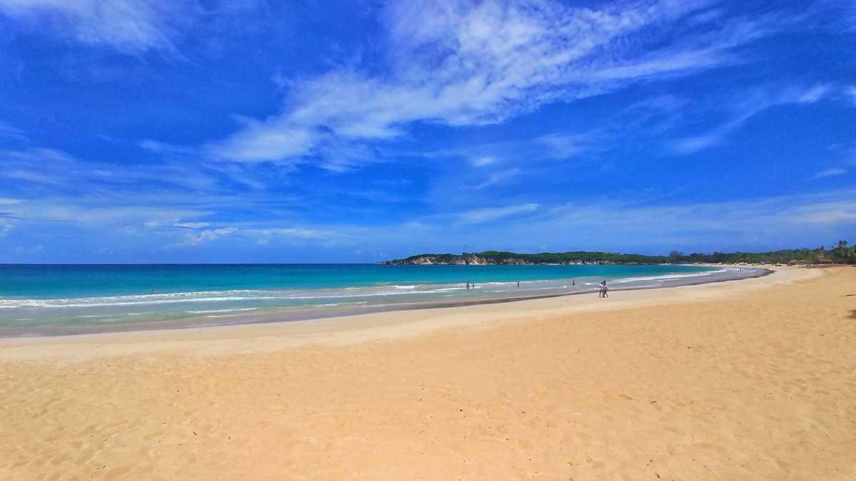 Der beliebte Macao Beach in Punta Cana