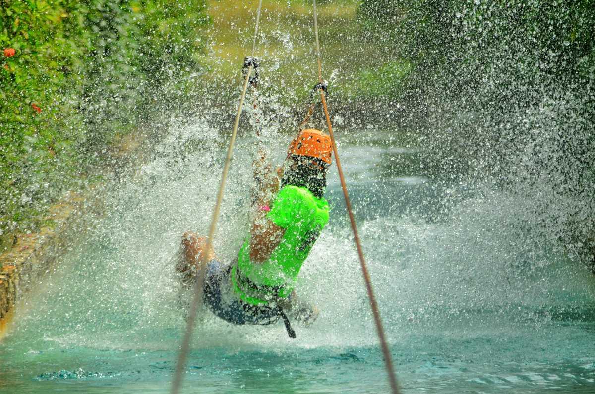 Ziplining in Punta Cana, eine actionreiche Aktivität und ein besonderes Erlebnis