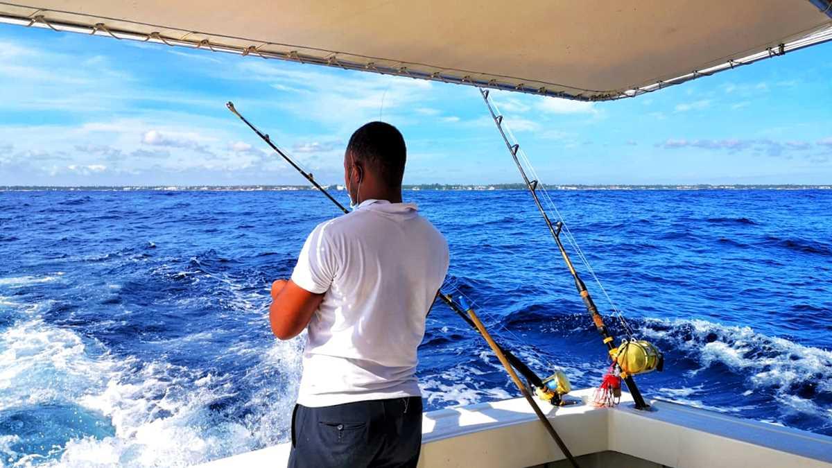 Hochseeangeln in Punta Cana, ein beliebter Ausflug in Punta Cana
