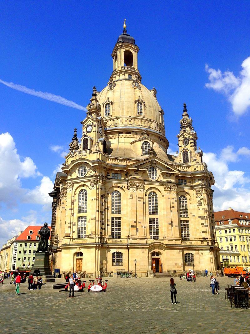 Die Frauenkirche von Dresden, Besuchermagnet und Sehenswürdigkeit