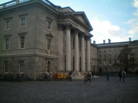Parliamant Square im Trinity College
