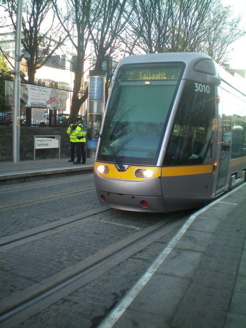 Straßenbahn in Dublin: die Luas