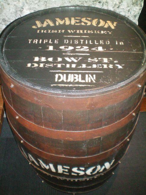 Whiskeyfass der Jameson-Marke