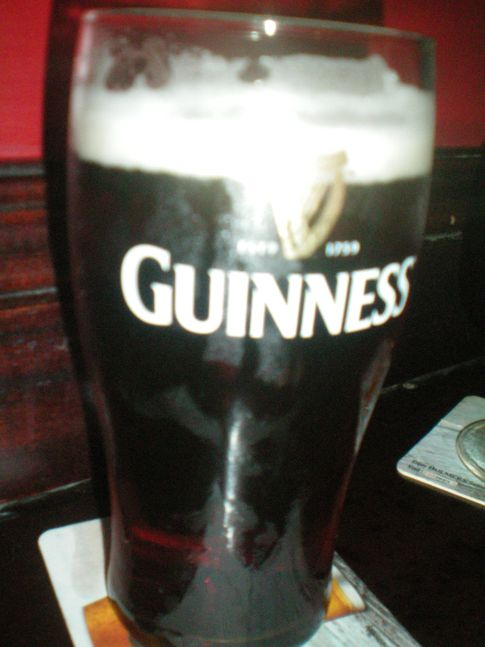 Guiness in der Quay Bar