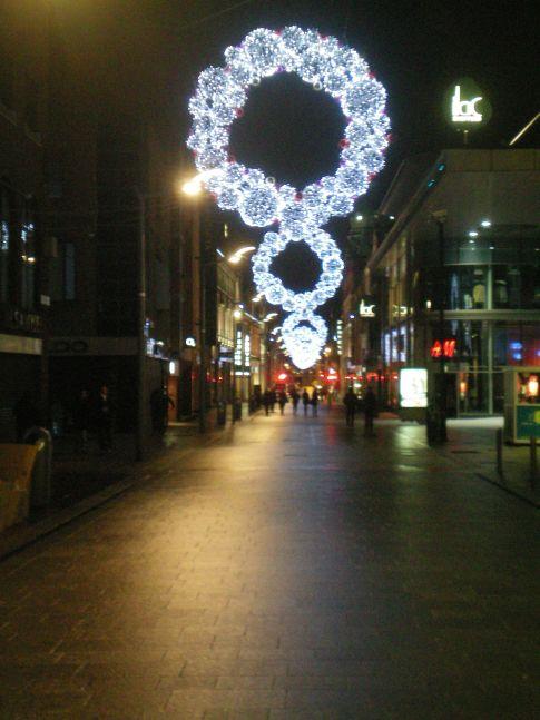 Henry Street am Abend