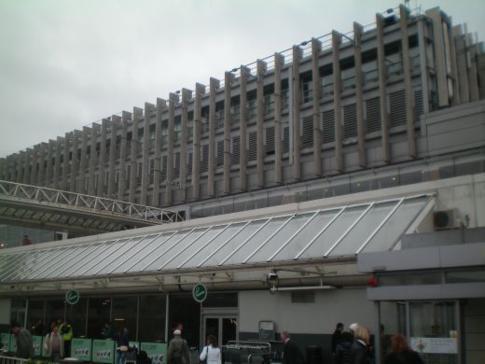 Das Gebäude des Dublin Airport