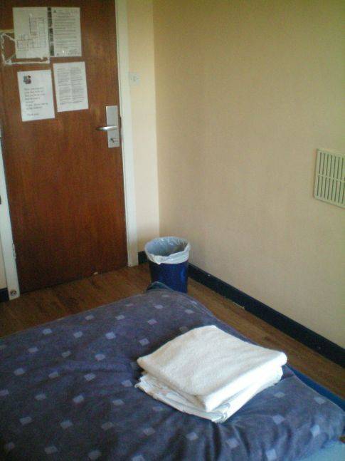 Doppelzimmer im International Youth Hostel in Dublin