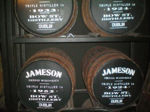 Besuch der Old Jameson Distillery in Dublin