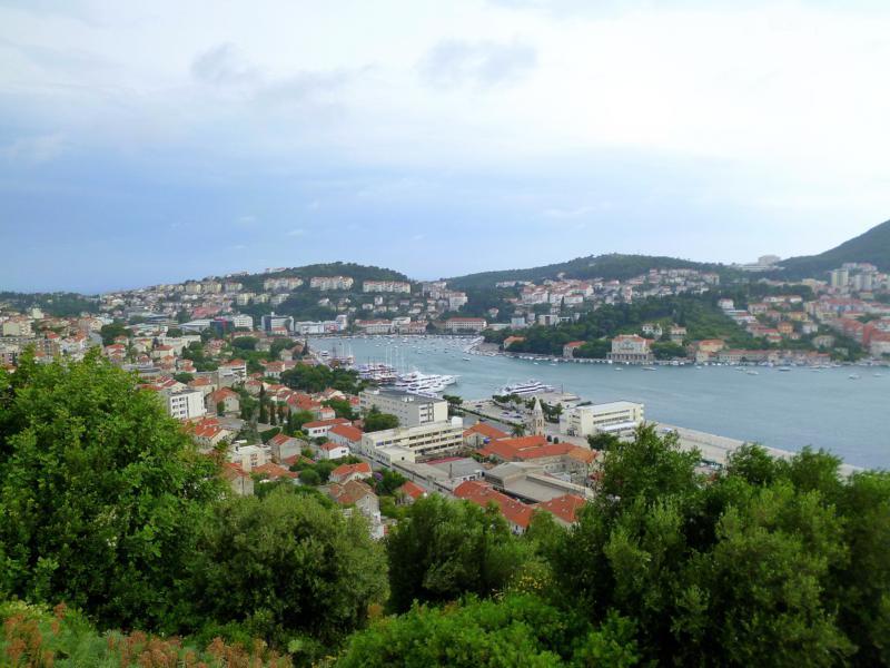 Blick auf das Hafenviertel von Dubrovnik