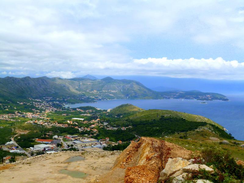 Blick auf das südliche Hinterland von Dubrovnik