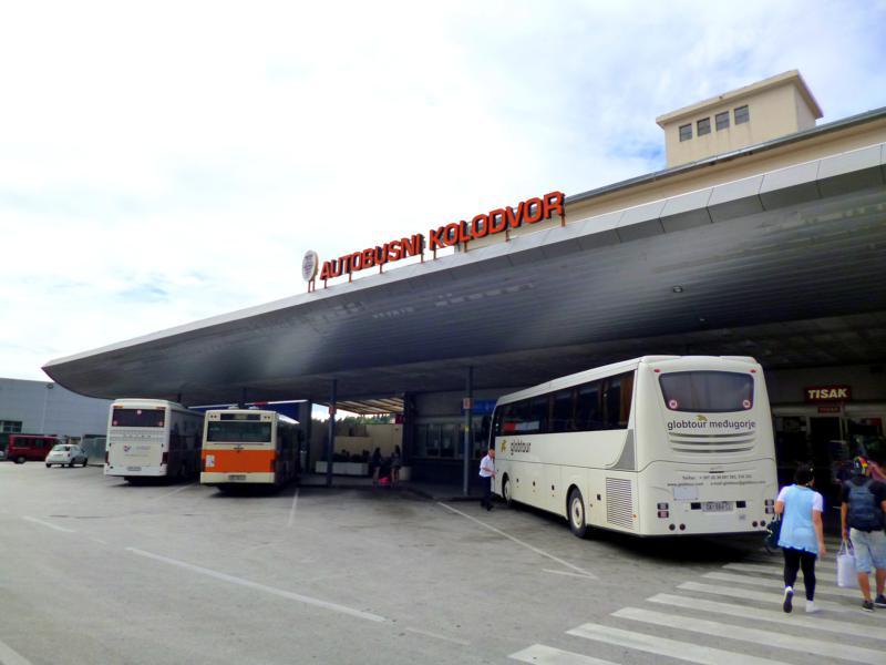 Das Busterminal in Dubrovnik