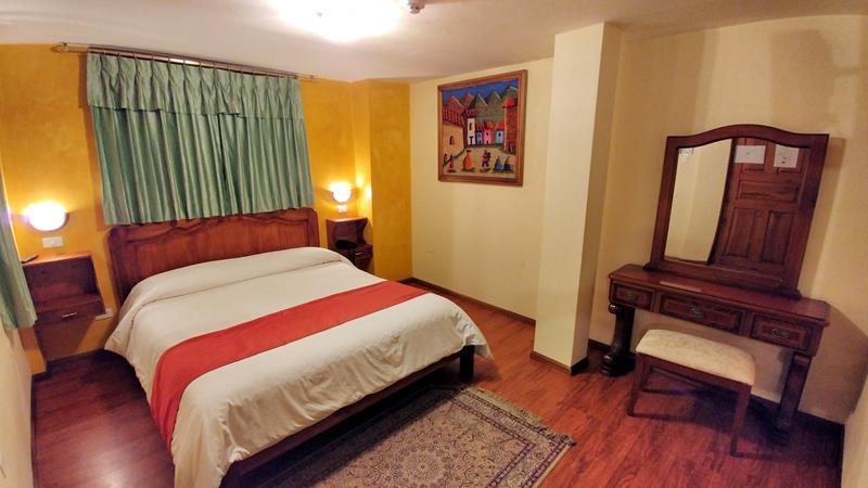 Unser Zimmer im San Francisco de Quito Hotel