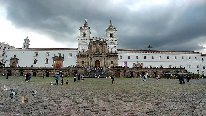 Der Convento de San Francisco im Zentrum von Quito