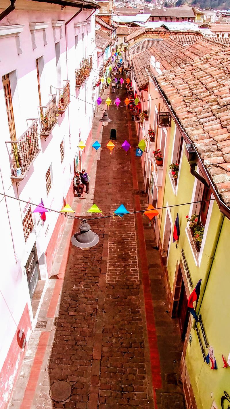 La Ronda, das Ausgehviertel von Quito