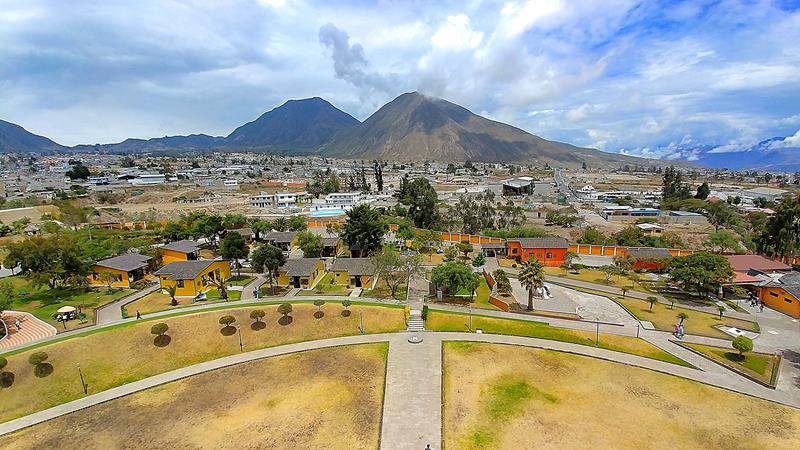 Mitad del Mundo, die Äquatormitte nördlich von Quito