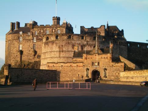 Das Edinburgh Castle, Top-Attraktion in der Hauptstadt Schottlands