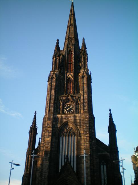 The Hub, ein besonders hohes Bauwerk in Edinburgh