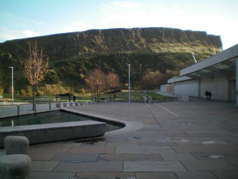 Arthurs Seat, sozusagen der Hausberg von Edinburgh