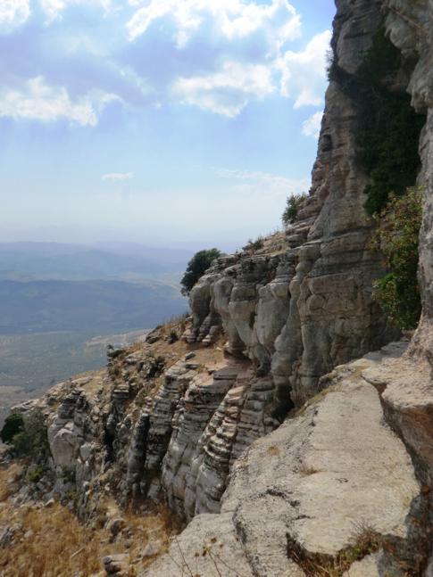 Der Naturpark El Torcal de Antequera in der Nähe von Malaga