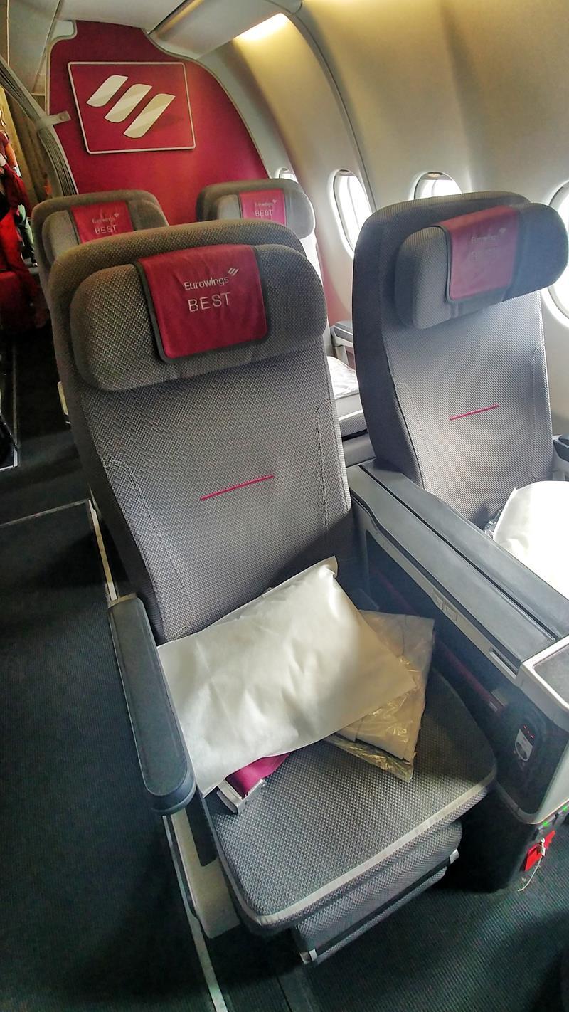 Erfahrung im Best-Tarif auf der Langstrecke, der Premium Economy Class von Eurowings