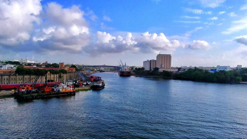 Blick auf die Hauptstadt der Dominikanischen Republik, Santo Domingo