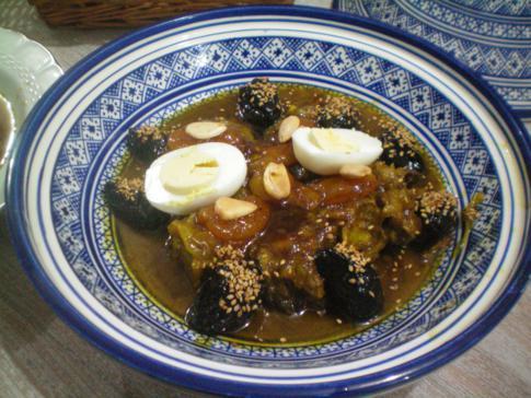 Leckeres Abendessen im Riad lalla Fatima, Fez