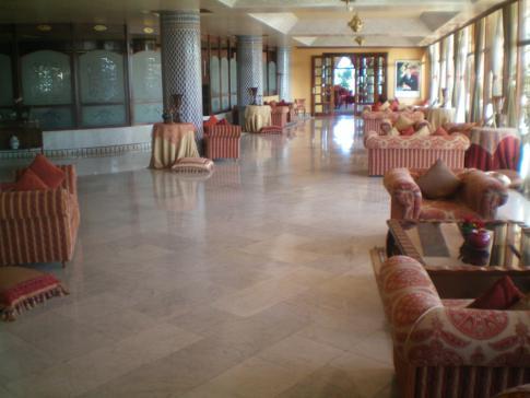 Das Hotel Les Merinides im Norden von Fez