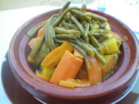 Ein kleiner landestypischer Lunch in der Medina on Fez