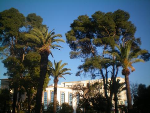 Ein kleiner Stadtpark von Fez, der Jardin lalla Amina