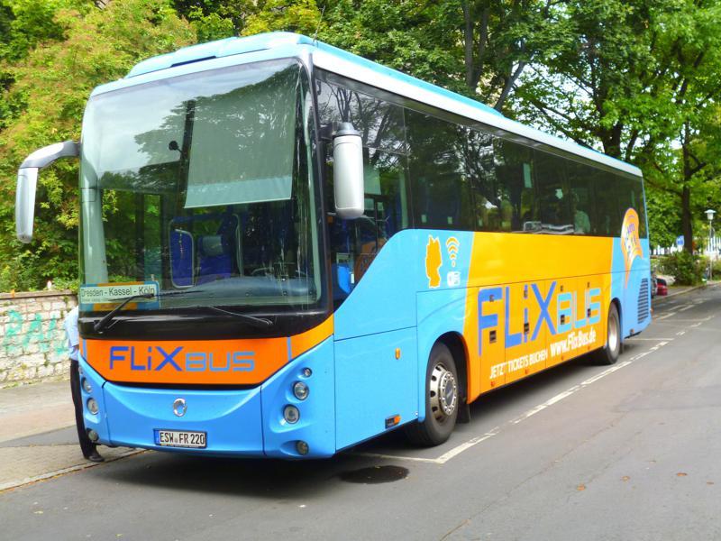 Mit Flixbus von Dresden nach Dortmund
