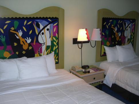 Unser Doppelzimmer im Miccosukee Resort and Casino westlich von Miami