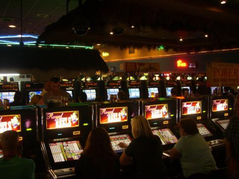 Das verrauchte und unattraktive Casino im Miccosukee Resort