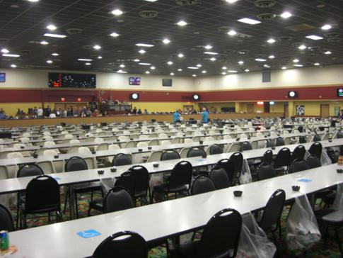 Riesiger Bingo-Raum im Miccosukee Resort and Casino