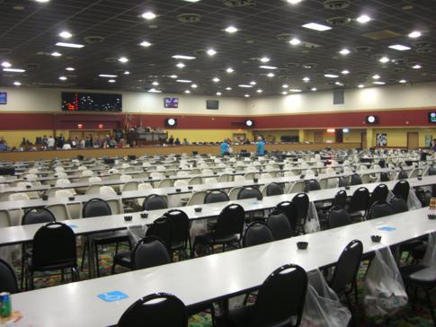 Riesiger Bingo-Raum im Miccosukee Resort and Casino