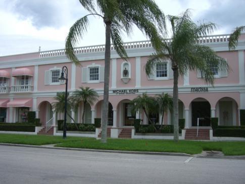 Die historische Altstadt von Naples in Florida