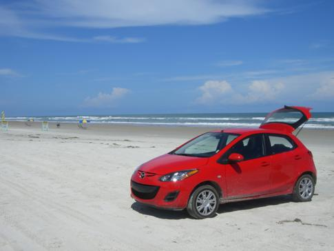 Mit dem Auto an den Strand: Daytona Beach