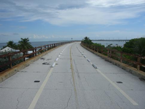 Die alte Seven Mile Bridge von Pigeon Key nach Marathon