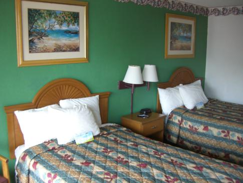 Unser Doppelzimmer im Days Inn South Airport Fort Myers