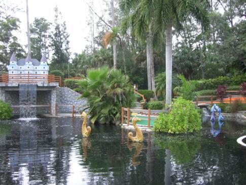 Adventure Golf in Fort Myers - hier auf der Anlage des Castle Golf