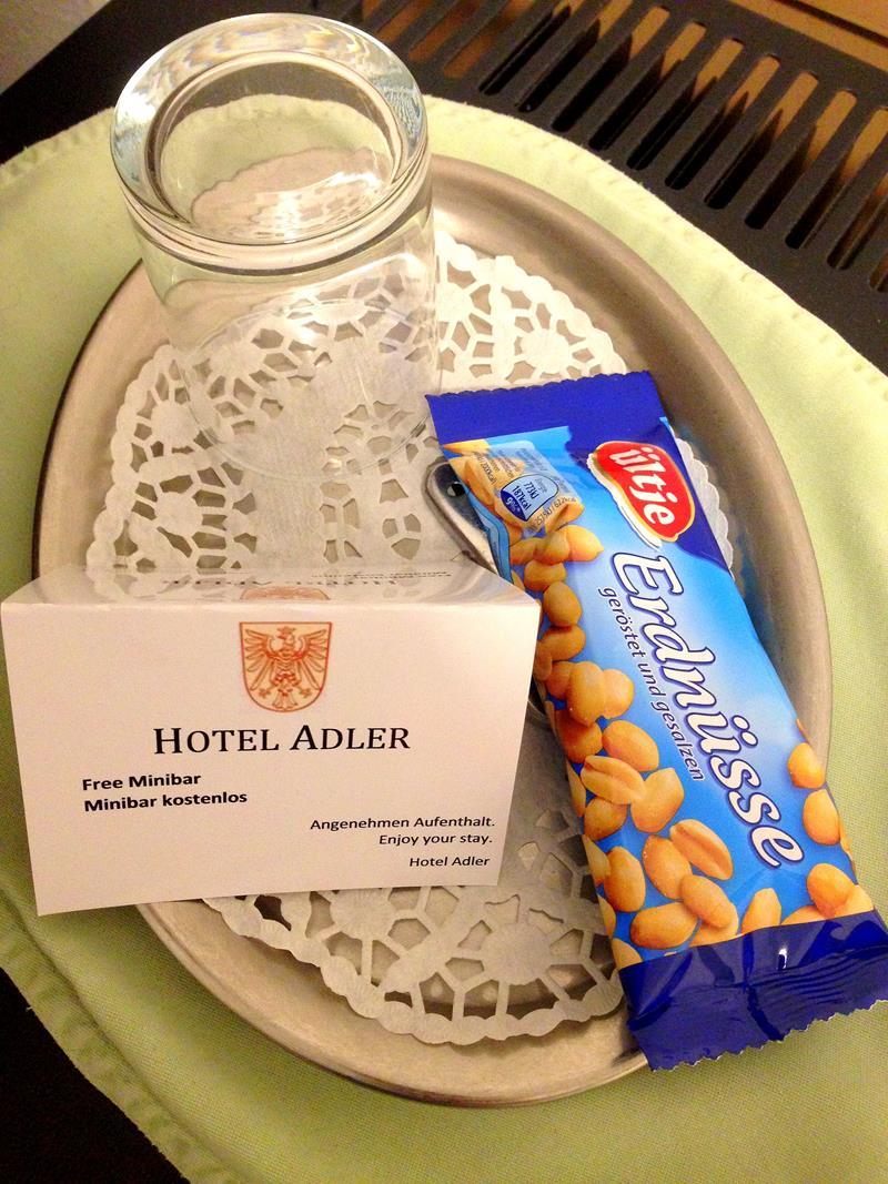 Nette Gesten im Hotel Adler, gelegen im Frankfurter Bahnhofsviertel