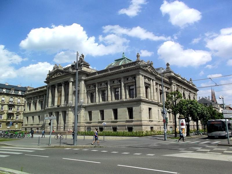 Die Nationalbibliothek von Straßburg