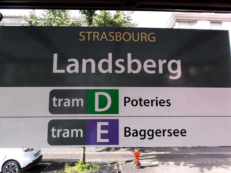 Deutschland und Frankreich sind in Strassburg stets nah beieinander