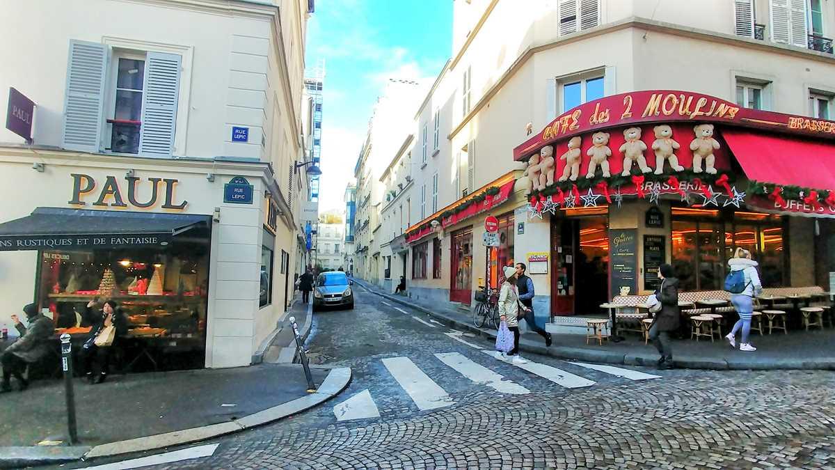 Das beliebte Viertel Montmartre in Paris