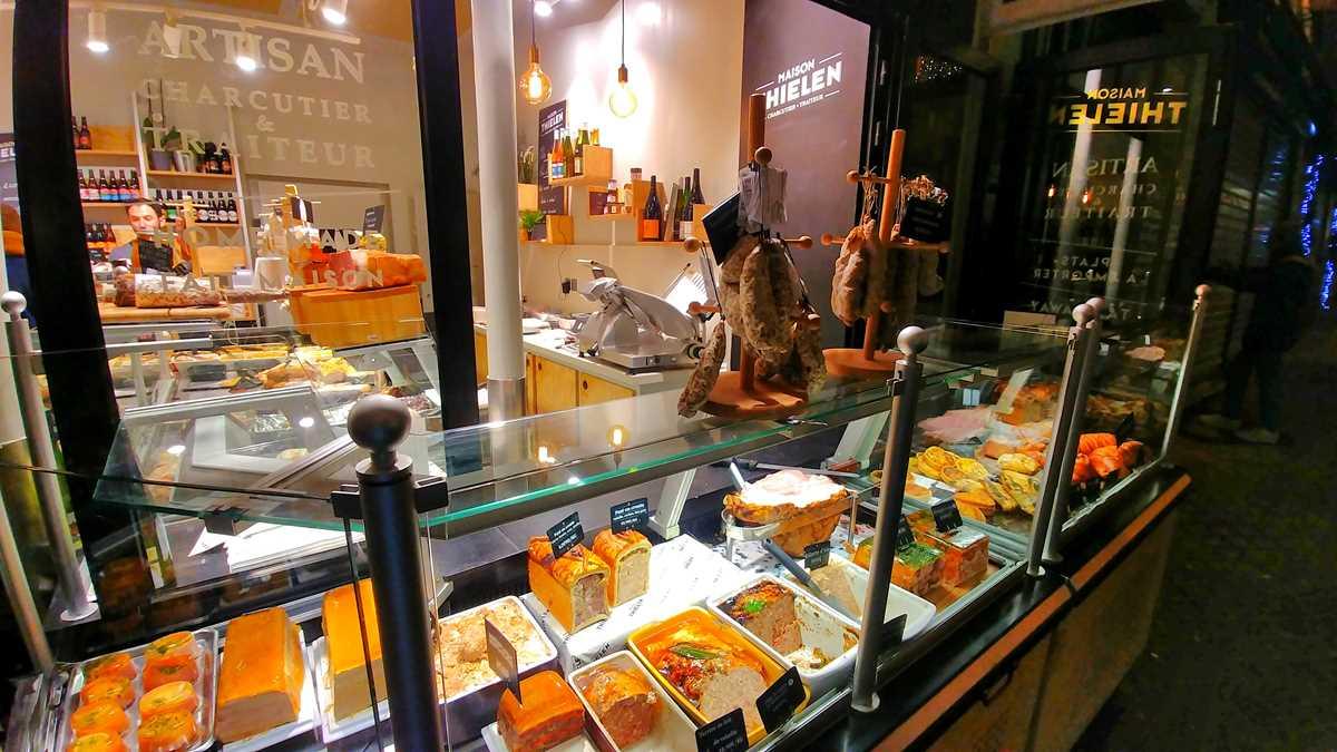 Delikatessen gibt es in Paris überall